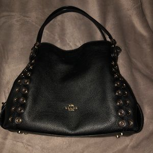 🖤🖤Authentic edie black coach purse!!